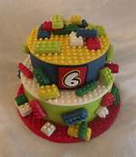 LEGO Cupcake Cake