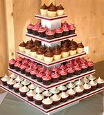 Square Cupcake Tower