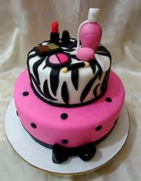 Makeup Birthday Cakes For Teen Girls