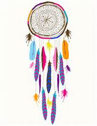 Colorful Dream Catcher Drawings