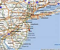 East Coast Map USA States