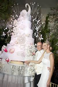 Prince Albert Of Monaco Wedding Cake