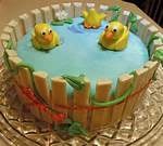 Kat Kit Baby Shower Cake