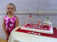 Gymnastics Themed Birthday Cake Ideas