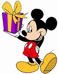 Mickey Mouse Birthday Clip Art Free