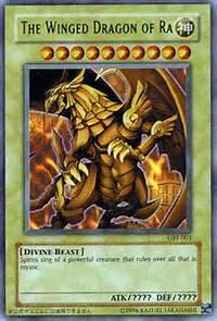 Yu Gi OH Winged Dragon Of Ra