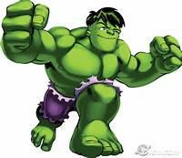 Marvel Super Hero Squad Hulk Cartoon