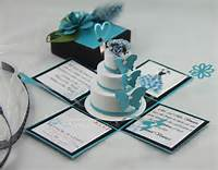 Wedding Exploding Invitation Box