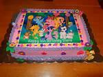 My Little Pony Birthday Sheet Cake