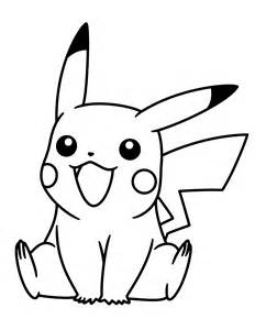 Pokemon Black And White Coloring Pages Pikachu | Azvoad