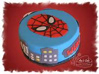 Cake De Spider Man