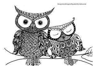 Cute Owl Coloring Pages Hoot hoot, here