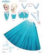 Elsa Frozen Papercraft