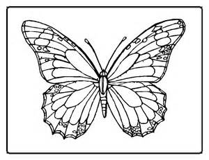 ... coloring pages loads of free printable butterfly coloring pages
