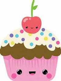 Transparent Kawaii Cupcake