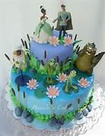 Princess And Frog Cake