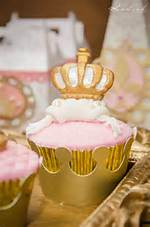 Gold And Pink Princess Birthday Party