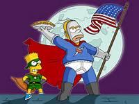 Homer Simpson Pie Man
