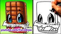 How To Draw Fun2draw Cute Food Cartoon