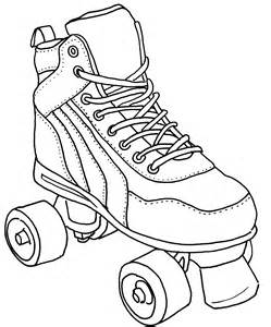 Roller Skate Colouring Pages Page 3 274125 Jamestown Coloring Pages