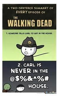 Walking Dead Carl Meme
