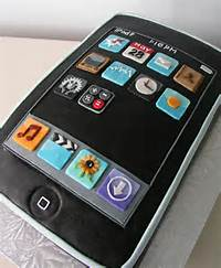 IPod Touch Birthday Cake