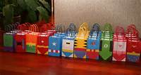 Superhero Birthday Party Bags