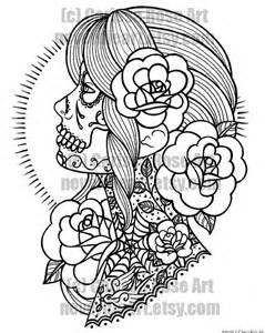 Skull coloring pages | skull | skull tattoo | tattoo designs | tattoos ...