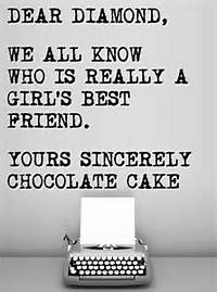 Best Friend Quotes And Chocolate