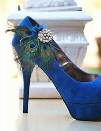 Peacock Wedding Shoes