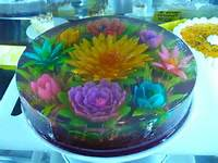 Jello With Flowers Inside