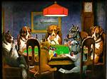 Dogs Playing Poker Coolidge