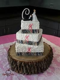Browning Pink Camo Wedding Cake