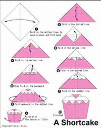 How To Make A Easy Origami Birthday Cake