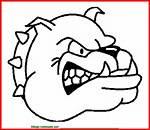 Dibujo De Perro Enfadado Para Colorear E Imprimir