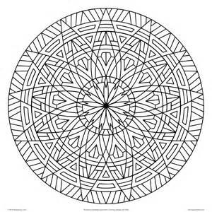 Geometrip.com - Free Geometric Coloring Designs - Circles