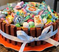 Easter Basket Cake With Kit Kats