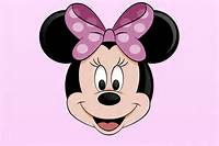 Draw Minnie Mouse Face