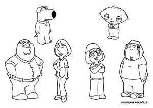family guy coloring pages are featuring peter griffin brian griffin ...