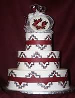 Native American Wedding Cake Designs