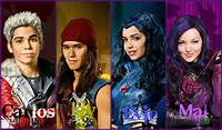 Jay And Evie Carlos Mal Disney Descendants