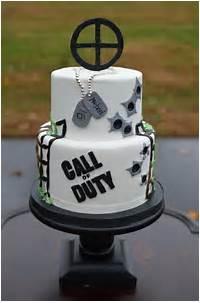 Call Of Duty Birthday Cake Ideas