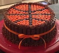 Reeses Pieces Basketball Cake
