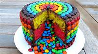 M And Rainbow Cake Pinata