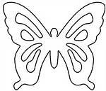 Butterfly Pattern Template