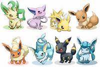 Cute Pokemon Eevee Evolutions