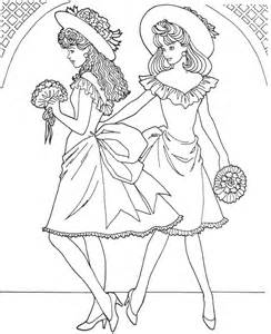 fashion angel Colouring Pages