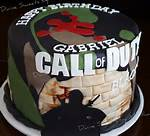 Call Of Duty Black Ops Birthday Cake