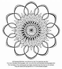 Free Mandala Designs Print