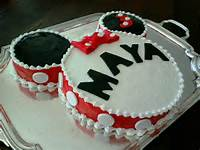 Easy Minnie Mouse Birthday Cake